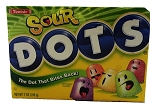 Sour Dots Movie Theater Size Candy, (Pack of 12)