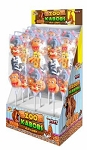 Zoo Kabobs Jelly Pops, (Pack of 24)