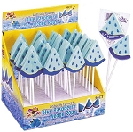 Alberts Blue Raspberry Wedge Pops, (Pack of 36)