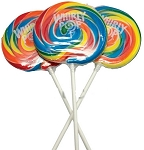 Whirly Pops Lollipops 3 Inch Pops (60 Pack)