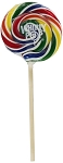 Whirly Pops Lollipops 4 Inch Pops (48 Pack)