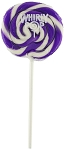 Purple Whirly Pops 1.5 Oz, (24 Pack)