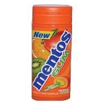 Mentos Tropical Gum, (Pack of 10)