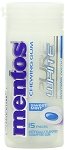 Mentos Pure White Mint Gum, (Pack of 10)
