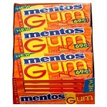 Mentos Tropical Gum, (Pack of 18)
