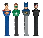 Pez Justice League, (Pack of 6)