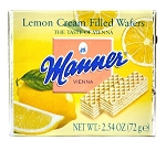 Manner Lemon Cream Wafers, (Pack of 12)