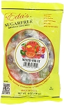 Eda's Sugar Free Mixed Fruit Candy, 6 Ounce Bags (Pack of 12)