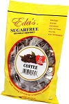 Eda's Sugar Free Coffee Candy, 6 Ounce Bags (Pack of 12)