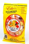 Eda's Sugar Free Tropical Mix Candy, 6 Ounce Bags (Pack of 12)