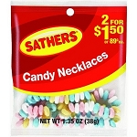 Sathers Candy Necklaces, (Pack of 12)