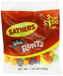 Sathers Runts Candy, (Pack of 12)