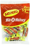 Sathers Bit O Honey Candy, (Pack of 12)