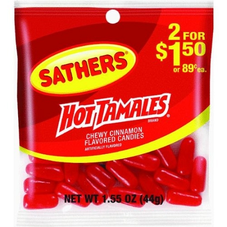 sathers hot tamales theonlinecandyshop   buy sathers