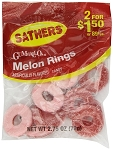 Sathers Melon Rings, (Pack of 12)