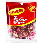 Sathers Caramel Creams, (Pack of 12)