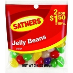 Sathers Jelly Beans, (Pack of 12)