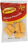 Sathers Circus Peanuts, (Pack of 12)