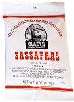 Claeys Candy Sassafrass Flavored Hard Candy, (Pack of 24)