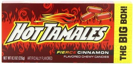 hot tamales candy king size box theonlinecandyshop