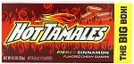 Hot Tamales Candy King Size Box, (Pack of 12)