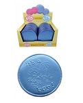 Its A Boy Chocolate Huge Chocolate 2 Ounce Coins, (Pack of 20)