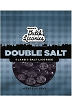 Double Salt Black Licorice Drops (Pack of 12)