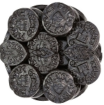 Gerrit Verburg Licorice Pontefract Cakes, (6.6 Pounds)