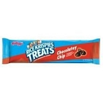 Kelloggs Rice Krispies Big Bar Treats Chocolatey Chip, (Pack of 12)