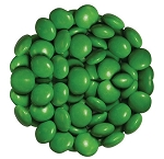 Dark Green Chocolate Color Drops, 15 Pounds