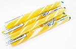 Gilliam Old Fashioned Lemon Stick Candy, (Pack of 80)