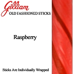 Gilliam Old Fashioned Raspberry Stick Candy, (Pack of 80)