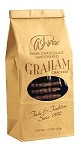Asher's Dark Chocolate Covered Graham Crackers 7.15 Ounce Bags, (Pack of 12)