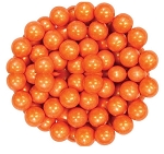 Sixlets Shimmering Orange Chocolate Candy, 10 Pounds