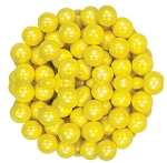 Sixlets Shimmering Yellow Chocolate Candy, 10 Pounds