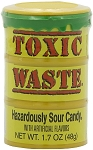 Toxic Waste Sour Candy Drums, (Pack of 12)