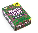 Now and Later Watermelon Candy, (Pack of 24)