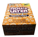 Now and Later Tropical Punch Candy, (Pack of 24)