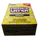 Now and Later Banana Candy, (Pack of 24)