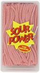 Sour Power Loose Pink Lemonade Candy Straws, (Pack of 200)
