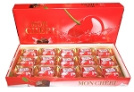Mon Cheri Piemont Kirsche Liquor Filled Chocolates, (Pack of 15)
