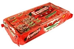 Frunas Watermelon Taffy Candy, (Pack of 48)