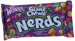 Wonka Giant Chewy Nerds, (Pack of 24)