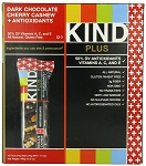 Kind Dark Chocolate Cherry Cashew and Antioxidants Bars, (Pack of 12)