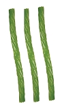 Kennys Green Apple Licorice Twists, 12 Pounds