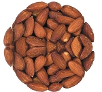 Roasted Salted Almonds 30 - 34 Per Ounce , (6.25 Pounds)