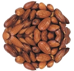 Roasted Unsalted Almonds 30 - 34 Per Ounce, (6.25 Pounds)