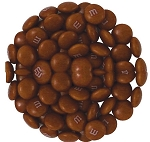 M & M Brown Candy, 5 Pounds