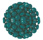 M & M Teal Candy, 5 Pounds