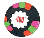 Madelaine Chocolate Dark Mint Poker Chips, (10 Pounds)